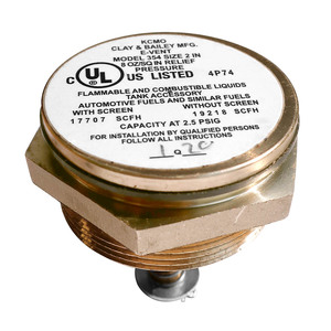 Clay & Bailey 354 Series 2 in. NPT Emergency Pressure Relief Vent