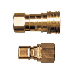 Gas-Flo Brass Gas Interchange Quick Disconnects