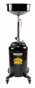 JohnDow 16 Gallon Pump Assist Portable Oil Drain