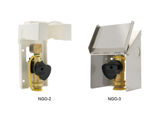 Gas-Flo Natural Gas/Propane Gas Exterior Wall Outlets