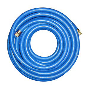 Continental ContiTech 1 1/4 in. Blue Low Temp Fuel Oil Delivery Hose w/ Male NPT Ends