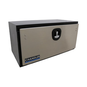 Chandler Equipment Carbon Steel Underbody Toolboxes w/ Stainless Steel Door