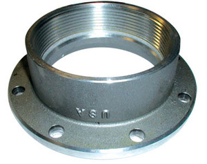 PT Coupling Aluminum 4 in. TTMA Flange x 4 in Female NPT