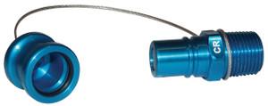 FloMax Teal Coolant Fluid Receivers