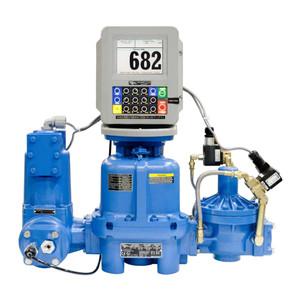 TCS 682LP Series LPG Piston Meters - 50 GPM