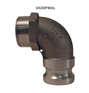 Dixon Aluminum Male Adapter x Male NPT 90° Elbows
