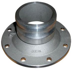 Dixon Aluminum 3 in. Adapter x 4 in. TTMA Flange