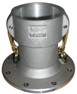 Dixon Aluminum 3 in. Coupler x 4 in. TTMA Flange