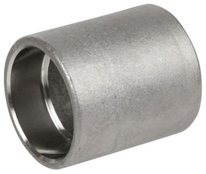 Smith Cooper Cast 150# Stainless Steel 1/2 in. Full Coupling Fitting -Socket Weld