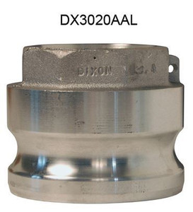 Dixon Aluminum Part A Reducing Male Adapter x Female NPT