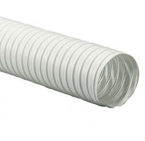 Flexaust® 25 ft. White Duct Hose (-20°F to 325°F)