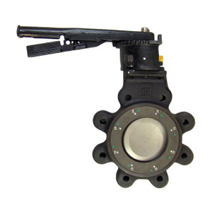 Crane Flowseal® High Performance ANSI 150 lb. Butterfly Valves w/ RTFE Seals, SS Disc, Lug Style