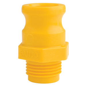 Banjo 3/4 in. Garden Hose Male Thread x 3/4 in. Male Adapter Quick Coupling
