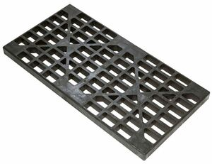 Justrite 2-Drum Polyethylene Replacement Grate