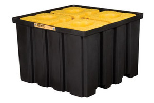 Justrite EcoPolyBlend IBC Spill Containment Pallet