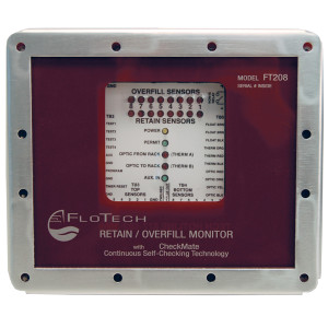 FloTech Checkmate Black and White 2 wire System Monitors