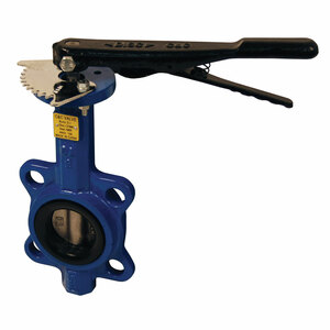 Dixon BFVW Series 150lb. Butterfly Valves w/ Buna-N Seals & SS Disc, Wafer Style