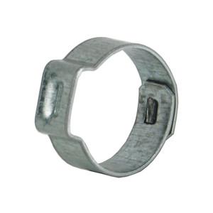 Dixon Zinc Plated Steel Pinch-On Single Ear Clamp