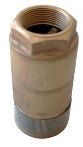 Morrison Bros. 335A Series Brass Double Poppet Foot Valves