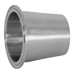 Dixon Sanitary B31M Series Polished 316 SS Concentric Clamp x Weld Reducers