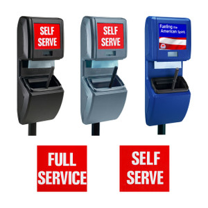 Commercial Zone Single Bucket Windshield Vue-T-Ful Service Centers