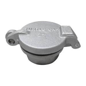 JME 2 in. Female NPT Aluminum Fill Caps