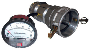 Test Coupling & Magnehelic Gauge Assembly