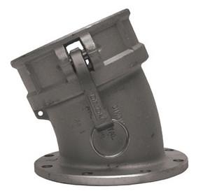 Dixon 4 in. Aluminum 22 1/2å¡ Angle Coupler x TTMA Flange