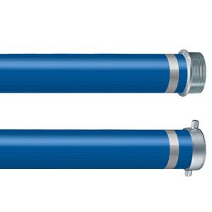 Kuriyama Vinylflow EZ Lite PVC Water Discharge Hose w/ Pin Lugs or Camlocks