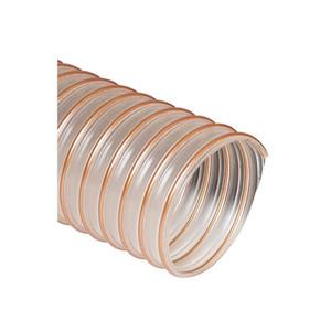 Flexaust Flexadux® PU (Flx-Thane® HD) Series 25 ft. Duct Hose (-65°F to 225°F) (Clear)