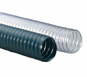 Flexaust Flexadux® PV (R-2) Series 50 ft. Duct Hose (20°F to 160°F) (Clear)