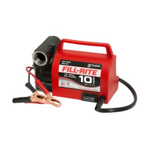 Fill-Rite FR1612 12V DC Portable Fuel Transfer Pump - 10 GPM