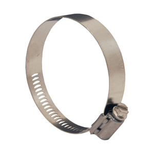 Dixon Aero-Seal Clamps Style 300 with 305 SS Band & 302 SS Screw - 10 QTY