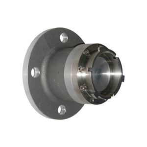 Dixon Aluminum Aviation Adapter x 150# ASA Flange Dry Disconnect