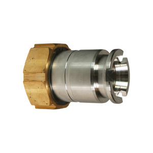 Dixon Dry Gas Stainless Steel Dry Disconnect Adapter x Female ACME Thread