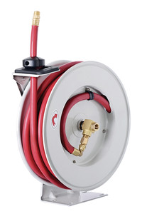 ReelWorks L850 Series Heavy-Duty Air Hose Reel - Front