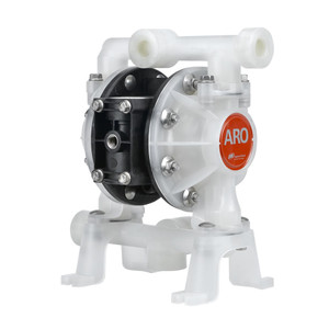 ARO 1/2 in. Non-Metallic Groundable Acetal Air Diaphragm Pump w/ PTFE / Santoprene Diaphragm