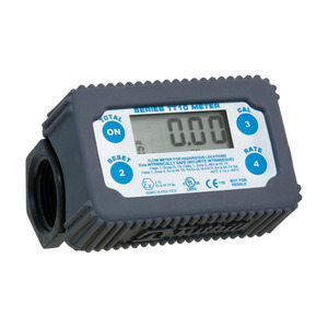 Tuthill TT10 Series 1 in. NPT Inline Turbine Engineered Polymer Meters