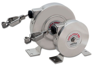 AMETEK Hunter Spring Products Stainless Steel Rota-Reel Static Grounding/Bonding Reels w/ Hytrel Coated Stainless Steel Cable