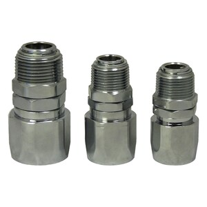 JME Reusable Curb Pump Hose Swivel Couplings