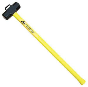 "Leatherhead Tools 10 lb. Sledge w/ 36"" Handle & Marry Bracket - Yellow"
