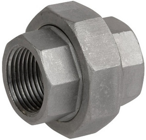 Smith Cooper Cast 150# Stainless Steel 1 1/2 in. Union Fitting - Threaded