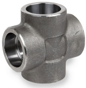 Smith Cooper 3000# Forged Carbon Steel 1 1/2 in. Cross Fitting - Socket Weld