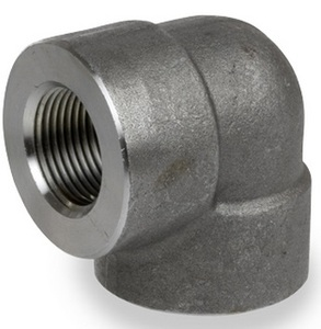 Smith Cooper 3000# Forged Carbon Steel 4 in. 90° Elbow Pipe Fitting - Threaded