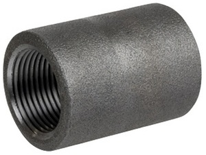 Smith Cooper 3000# Forged Carbon Steel 4 in. Coupling Fitting - Threaded