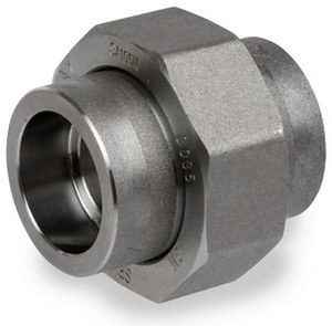 Smith Cooper 3000# Forged Carbon Steel 3/4 in. Union Fitting - Socket Weld