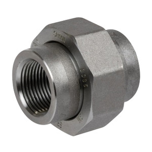 Smith Cooper 3000# Forged Carbon Steel 1 1/4 in. Union Fitting - Threaded