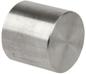 Smith Cooper 3000# Forged 316 Stainless Steel 1 1/2 in. Cap Fitting - Socket Weld