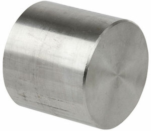Smith Cooper 3000# Forged 316 Stainless Steel 3 in. Cap Fitting - Socket Weld