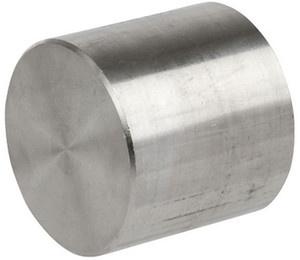 Smith Cooper 3000# Forged 316 Stainless Steel 1 1/2 in. Cap Fitting - Threaded